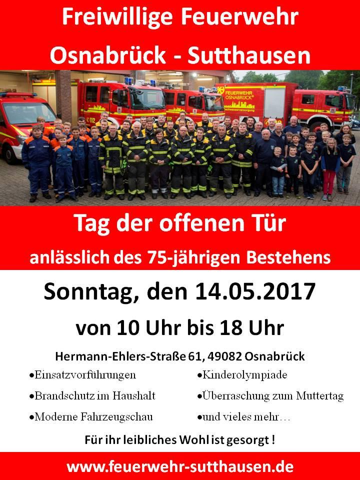 Tag der offenen tür 2017  Freiwillige Feuerwehr Osnabrück Sutthausen